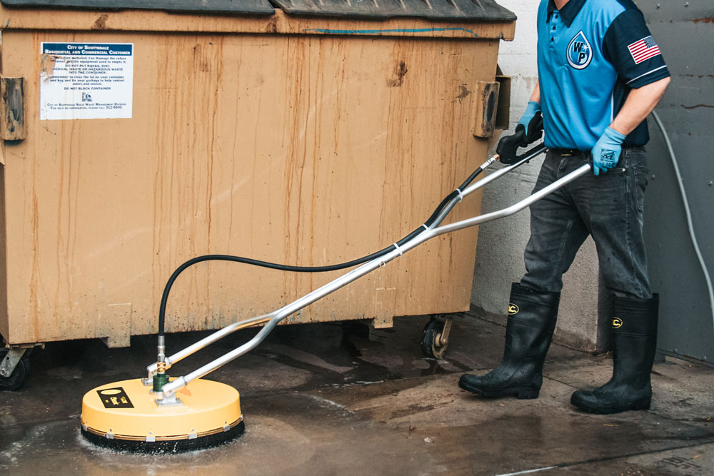 dumpster-pad-cleaning- Claremont